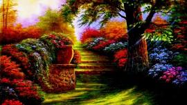 Gesu dice... I vostri Cuori sono il Mio Giardino profumato