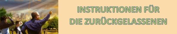 Instruktionen von Jesus fuer die Zurueckgelassenen - PDF Dokumente herunterladen
