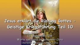 Jesus erklärt die Rüstung Gottes - Geistige Kriegsführung Teil 10