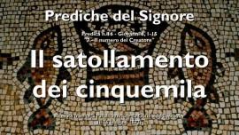 PREDICHE DEL SIGNORE GESU-16-Giovanni-6_1-15 Il satollamento dei cinquemila-Gottfried Mayerhofer