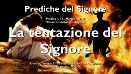 PREDICHE DEL SIGNORE Gottfried Mayerhofer-13-Matteo-4_1-11 La tentazione del Signore