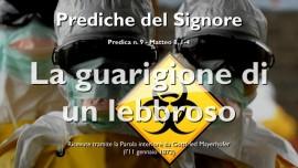 PREDICHE DEL SIGNORE-La guarigione di un lebbroso GESU spiega Matteo 8_1-4-Gottfried Mayerhofer