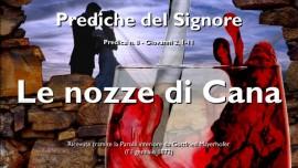 Prediche del Signore Gesu-Predica 8-LE NOZZE DI CANA e TRASFORMARE L_ACQUA IN VINO-GESU spiega Giovanni 2_1-11-Gottfried Mayerhofer