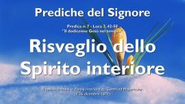 Prediche del Signore-RISVEGLIO DELLO SPIRITO INTERORE-IL DODICENNE GESU NEL TEMPIO-GESU spiega Luca 2_42-50-Gottfried Mayerhofer