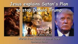Satans plan to stop Donald Trump