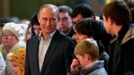 Президента Путина посетил Господь. Ваши молитвы изменяют мир.