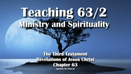 The Third Testament Chapter 63 2-Teaching 2 Ministry and Spirituality-3-Testament-63-2
