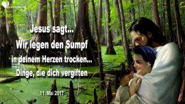 2017-05-11 - Den Sumpf trockenlegen-Sumpf im Herzen-Vergiftung-Monster-Loslassen-Liebesbrief von Jesus