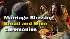 The Great Gospel of John Jakob Lorber-Supper Bread Wine Baptism Forgiveness Marriage Blessing Ceremonies-