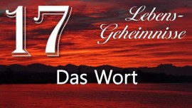 Lebensgeheimnisse Gottfried Mayerhofer-Das Wort-17