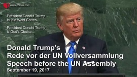 2017-09-19 Donald Trump Speech UN-Donald Trump Rede vor UNO-Untertitel DEUTSCH