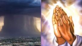 Jeesus sanoo… Nämä hurrikaanit eivät tapahdu sattumalta & Teidän rukoukset ovat voimakkaita