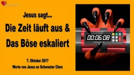 2017-10-07 - Gebetsaufruf von Jesus-Die Zeit laeuft aus-Das Boese eskaliert-Liebesbrief von Jesus
