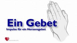 2017-10-09 - Impulse fuer ein Herzensgebet und das Binden von Daemonen boese Geister