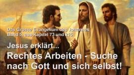 Grosses Johannes Evangelium Band 5 Jakob Lorber-Rechte Arbeit-Suche nach Gott Selbsterkennung