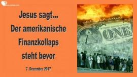 Jesus sagt-Der Finanzkollaps in Amerika steht bevor-Liebesbrief von Jesus