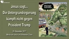 Jesus sagt-Die Untergrundregierung kaempft nicht gegen Praesident Trump-Liebesbrief von Jesus