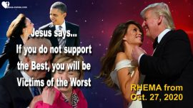 2018-03-18 - Support the Best Donald Trump-Obama-Hillary-Kamala-Biden-Victims-Love Letter from Jesus Rhema