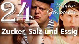 Lebensgeheimnisse Gottfried Mayerhofer 24-Jesus erklaert-Zucker Salz Essig