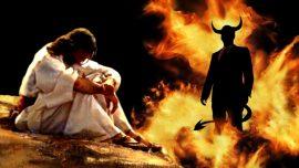 """主的布道-布道13 -馬太福音 4:1-11 """"看自找的軟弱和不值得......"""" 誘惑...征服邪氣的影響"""