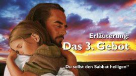Geistige Sonne Jakob Lorber-76-Das dritte Gebot Gottes-Du sollst den Sabbat heiligen