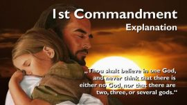 Spiritual Sun Jakob Lorber-The first Commandment-You shall believe in one God and have no other gods besides me