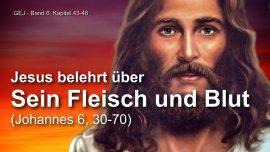 Das Grosse Johannes Evangelium Jakob Lorber-Fleisch und Blut des Herrn-Brot und Wein-Johannes 6_30-70-1280