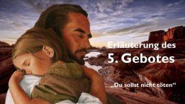 Geistige Sonne Jakob Lorber-Das fuenfte Gebot-Du sollst nicht toeten-Neid-Eifersucht-Hass-Rache