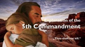 Spiritual Sun Jakob Lorber-Fifth Commandment-You shall not kill-Envy-Jealousy-Hate-Revenge