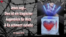 2018-08-30 - Jesus ist gegen Todesstrafe-Dies ist ein tragischer Augenblick-Verhaftungen Amerika-Liebesbrief von Jesus
