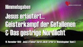 Jakob Lorber Himmelsgaben Band 3-Geisterkampf der Gefallen und das Nordlicht
