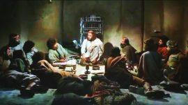 Jesus kilisede Son Akşam Yemeği Konusunda bilgi veriyor