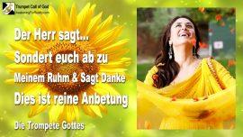 2009-11-26 - Erntedank-Absonderung von der Welt-Dankbarkeit-Dankopfer-Reine Anbetung-Die Trompete Gottes-1280