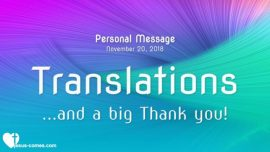 2018-11-19 Languages Thank you-Translations-Love Letter from Jesus-The Third Testament