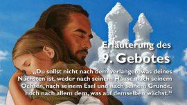 GEISTIGE SONNE Jakob Lorber-Das 9 Gebot Gottes-Begehren-Verlangen-Neid-Eifersucht-Du sollst nicht