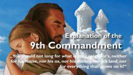 Spiritual Sun Jakob Lorber-9th Commandment-Envy-Desire-Jealousy-You shall not covet