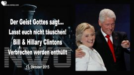 2015-10-13 - Prophezeiungen Mark Taylor Deutsch-Bill Hillary Clinton Deutsch-Tauschung-Verbrechen-Barack Obama