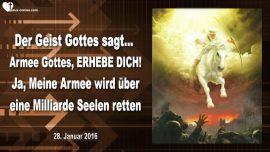 2016-01-28 - Armee Gottes erhebe dich-Eine Milliarde Seelen retten-Botschaft des Herrn durch Mark Taylor