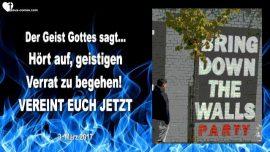 2017-03-03 - Geist Gottes sagt-Geistiger Verrat-Einheit-Vereinigung-Einssein-Mark Taylor deutsch