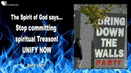 2017-03-03 - Spirit of God says-Spiritual Treason-Unity-Unification-You shall not kill-Mark Taylor english