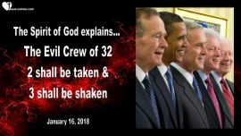 2018-01-16 - The Evil Crew of 32-Ex-Presidents of the United States-Bush-Carter-Obama-Clinton-Marc Taylor