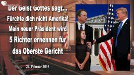 2016-02-24 - 5 neue Richter fur das Oberste Gericht-Prasident Trump-Gesalbter Gottes-Mark Taylor deutsch