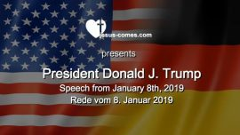 2019-01-08 - Border Security Wall Speech to the Nation Donald Trump Rede zur Nation Amerika Mauer und Grenzschutz