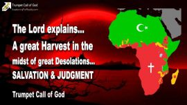 2007-10-22 - A great Harvest-Great desolations-Salvation and Judgment-Trumpet Call of God