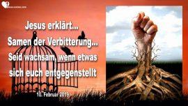 2019-02-10 - Samen der Verbitterung-Wachsamkeit-Widerstand-Gegenwehr-Eigensinn-Liebesbrief von Jesus