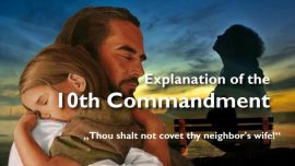 Spiritual Sun Jakob Lorber english-The 10th Commandment-You shall not covet your neighbors wife
