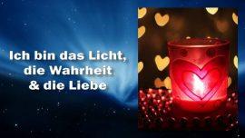 Das Dritte Testament Kapitel 7-Ich bin das Licht der Welt-Ich bin die Wahrheit-Ich bin Liebe-Jesus Christus