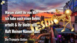 2008-06-19 - Gott berauben-Befehl Gottes-Gottes Wort trompeten-Ignoranz-Jesus-YahuShua HaMashiach-Trompete Gottes