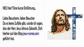 2019-04-13 - Einfuhrung Jesus-comes_com-Besucherin-Besucher Blog-Kein Zufall-Jesus Jehova Zebaoth-Liebesbrief von Jesus-