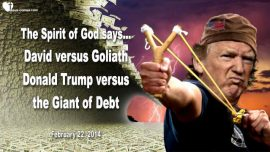 2014-02-22 - Kim Clement Prophecy 2014 english-David versus Goliath-Donald Trump versus the Giant of Debt